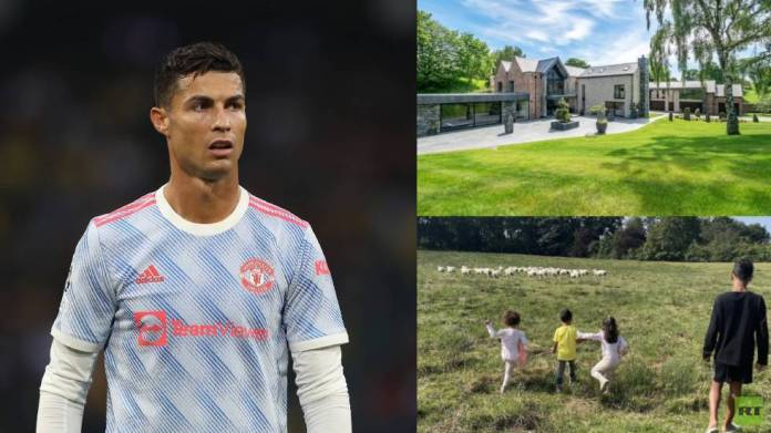 Ronaldo moves from his luxurious palace because of sheep