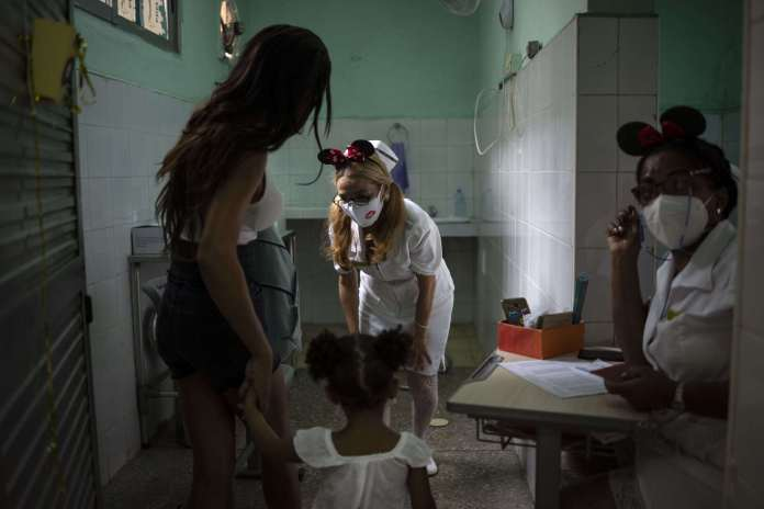 Cuba begins vaccinating the age group between two and ten years against