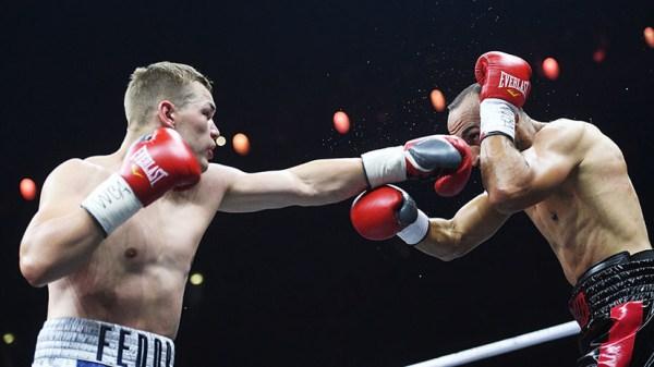 Боксёр Фёдор Чудинов победил француза Мохаммеди в поединке