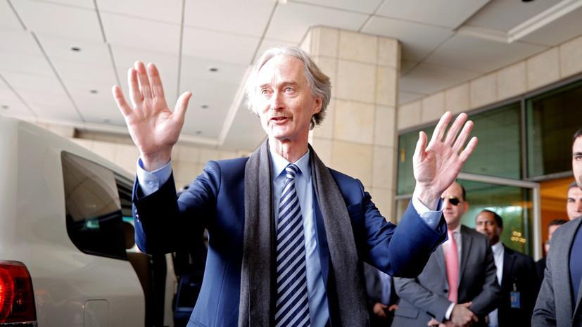 Pedersen megjegyezte Oroszország és az ENSZ kulcsszerepét a szíriai településen