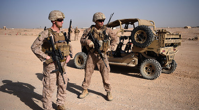 US Army soldiers in Afghanistan