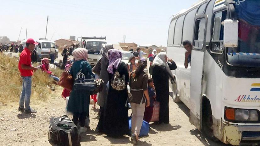 Az Egyesült Államok nem hagyta ki az Al Tanf felé vezető evakuálási buszokat