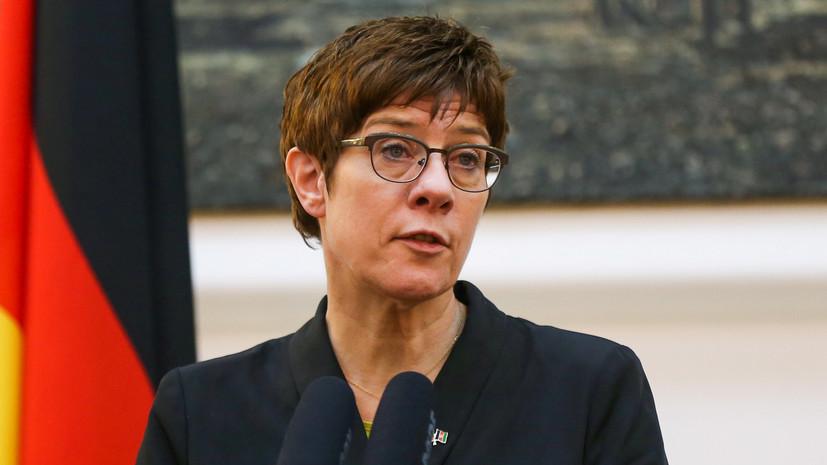 Правительство ФРГ обсудит расследование убийства в Берлине