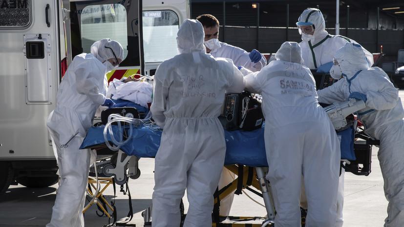 Число жертв коронавируса во Франции составило 13 832