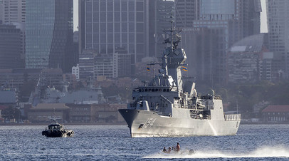 Корабль ВМС Австралии