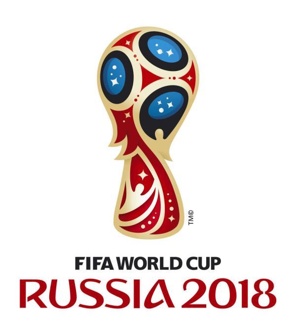Эмблема чемпионата мира по футболу 2018 в России ...