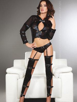 Set sexy Erna - Negru