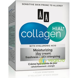 AA COSMETICS COLLAGEN HIAL+ Crema Hidratanta de Zi (30+) 50ml