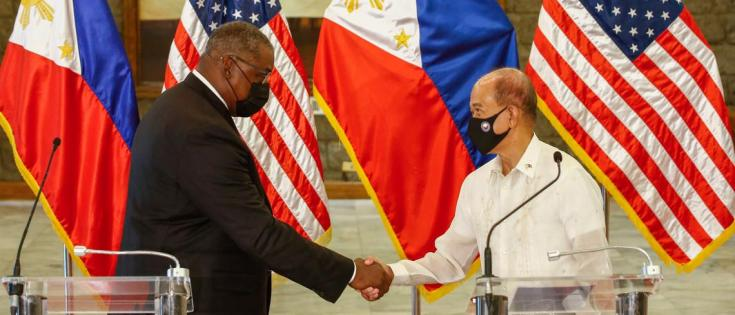 US-Philippines alliance is back to counter China