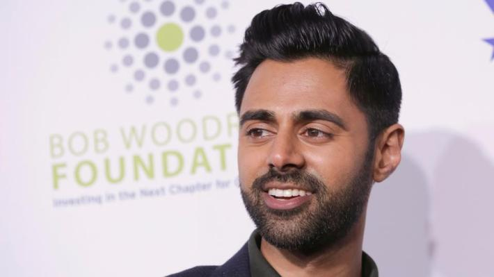 Comedian Hasan Minhaj attends the 11th Annual Stand Up for Heroes benefit, presented by the New York Comedy Festival and The Bob Woodruff Foundation, at the Theater at Madison Square Garden, New York.