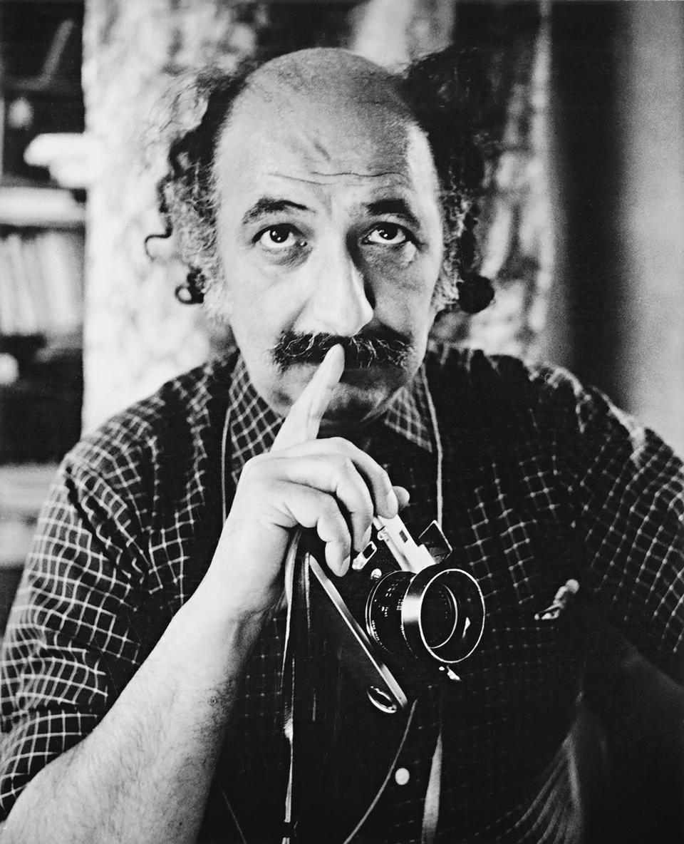 Portrait of Ara Guler (1928-2018) by Imogen Cunningham.