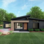 House Plan 82569 Modern Style With 1131 Sq Ft 3 Bed 2 Bath