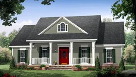 Colonial House Plans at FamilyHomePlans com House Plan 59952