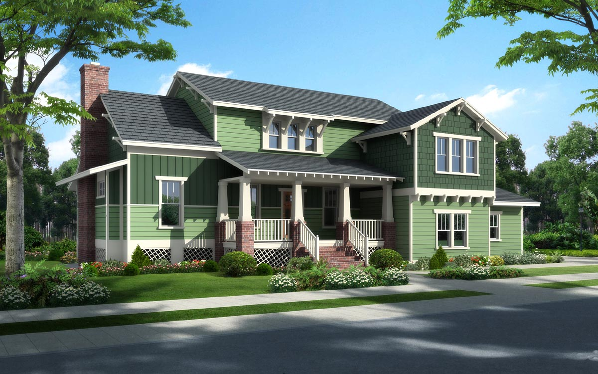 Bungalow Cottage Craftsman Traditional
