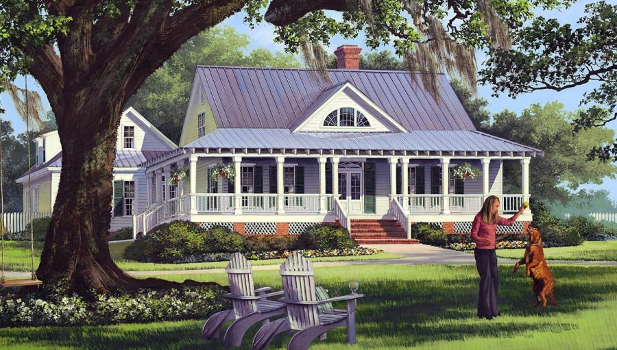 House Plan 86226 at FamilyHomePlans com Click Here to see an even larger picture  Cottage Country Farmhouse  Traditional House