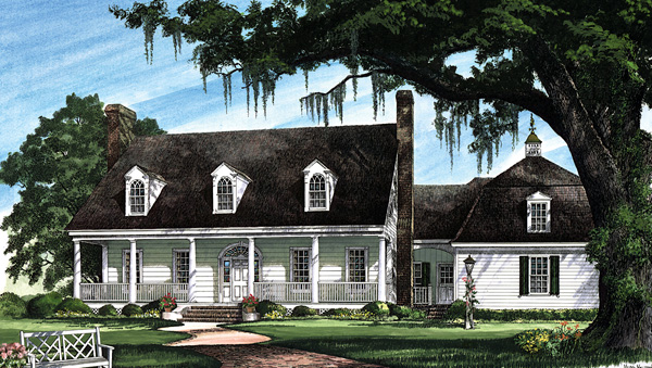 Cape Cod Colonial Cottage Country Plantation Southern