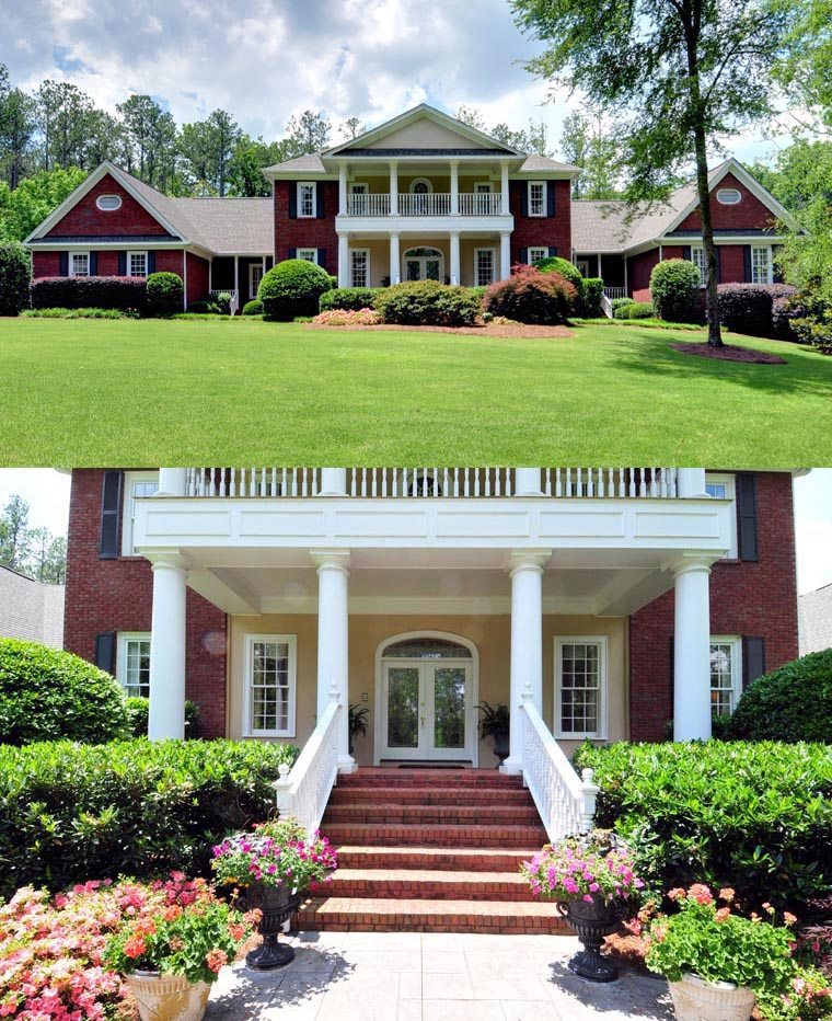 Colonial Plantation House Plan 86333