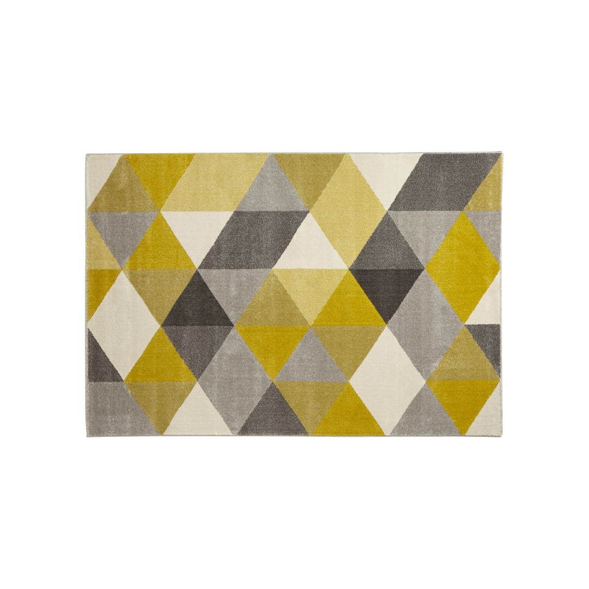 tapis design style scandinave rectangulaire geo 230cm x 160cm jaune gris beige amp story 3766