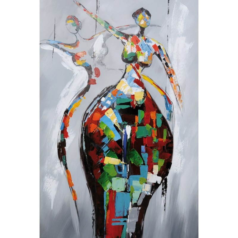 tableau peinture figurative contemporaine rumba peintures figuratives modernes