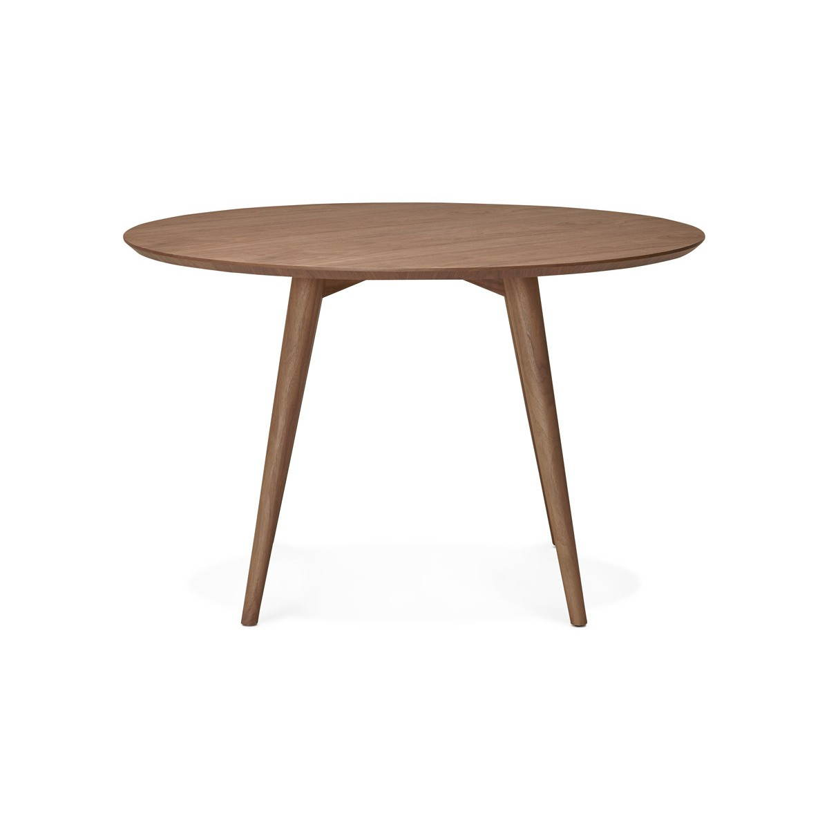 scandinavian style wooden dining table
