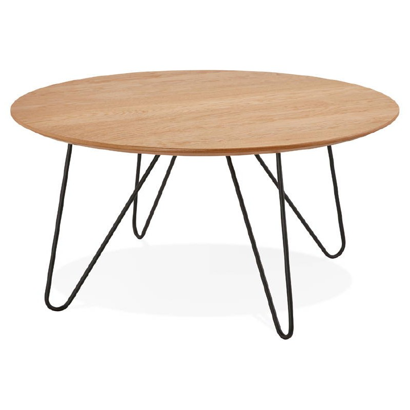 coffee table design frida wood and metal natural low tables