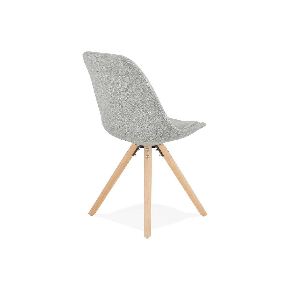 chaise design scandinave ashley en