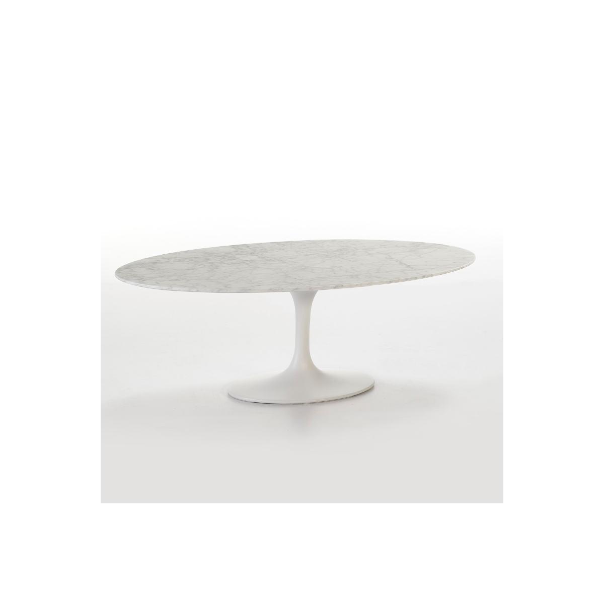 table basse 120x60x42 marbre fibre de verre blanc amp story 7305