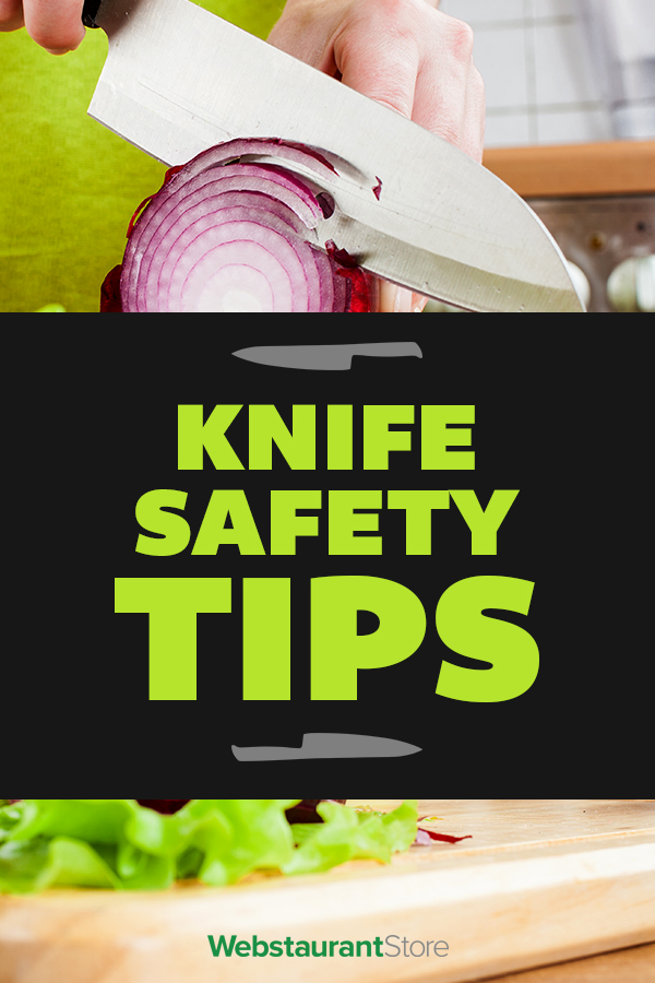 Knife Safety Tips Kitchen Knife Handling And Safety