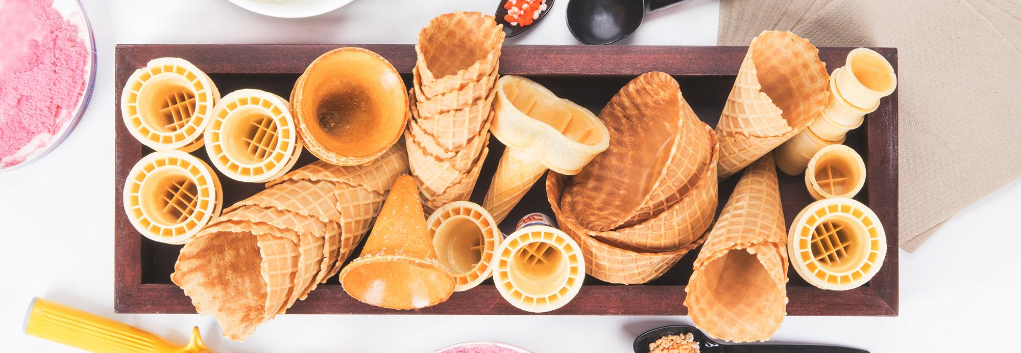 Kinds Ice Cream Cones