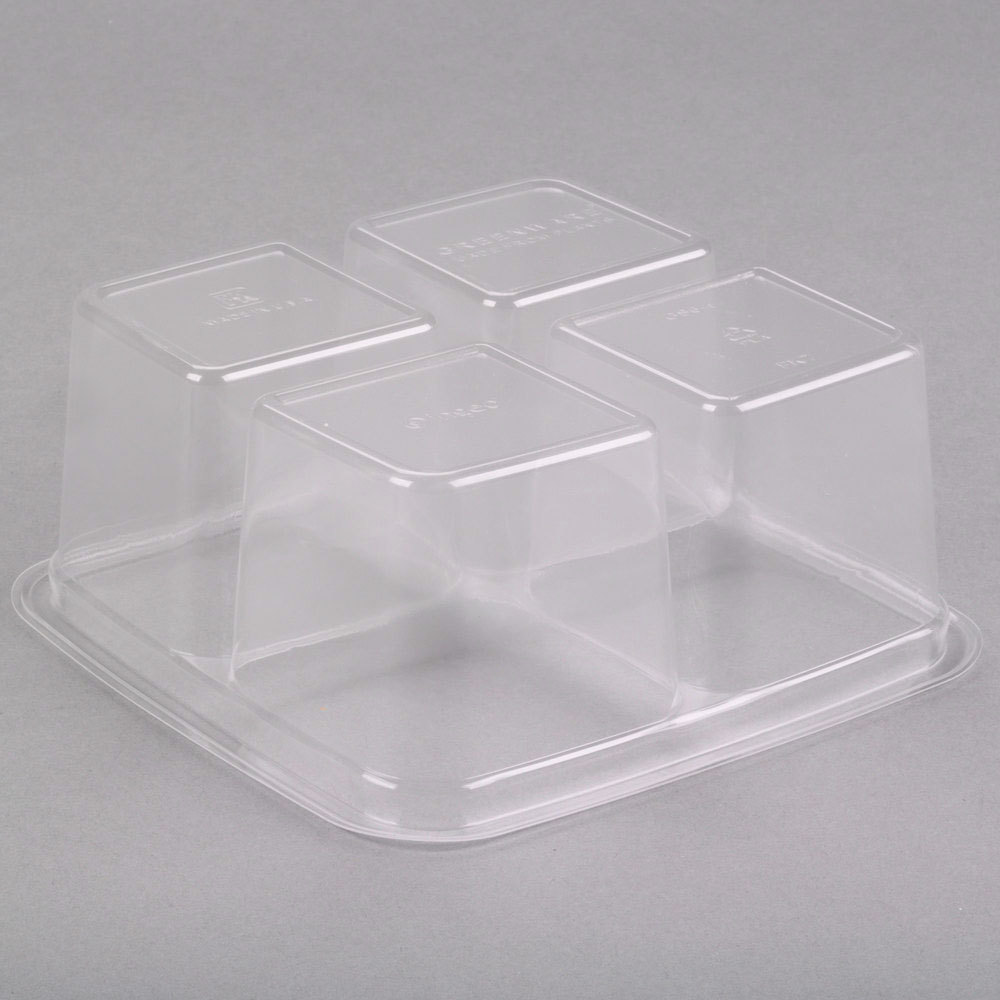 4 Compartment Container Go