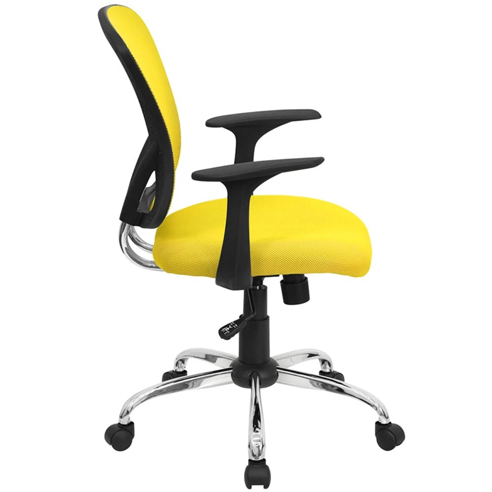 Office Chair Gold Yellow