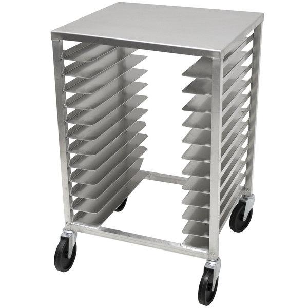 advance tabco pz12 mobile pizza pan rack 12 pan capacity