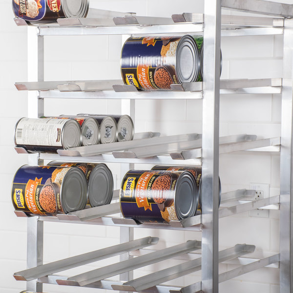 regency canrk162 full size stationary aluminum can rack for 10 and 5 cans