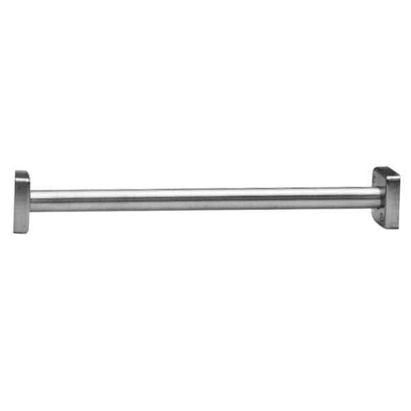 bobrick b 6107 x 72 classicseries 72 stainless steel heavy duty shower curtain rod with satin finish