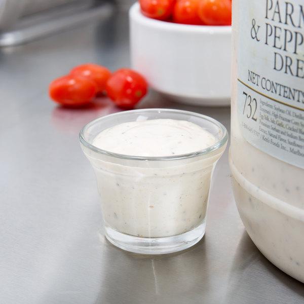 Ken39s Foods 1 Gallon Select Parmesan and Peppercorn Dressing