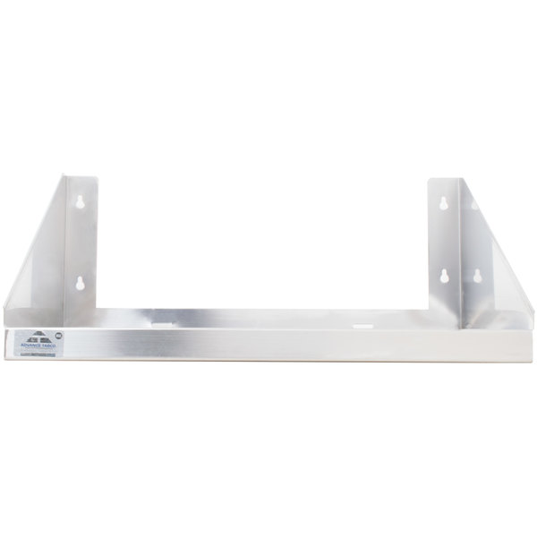 advance tabco ms 24 36 36 x 24 stainless steel microwave shelf