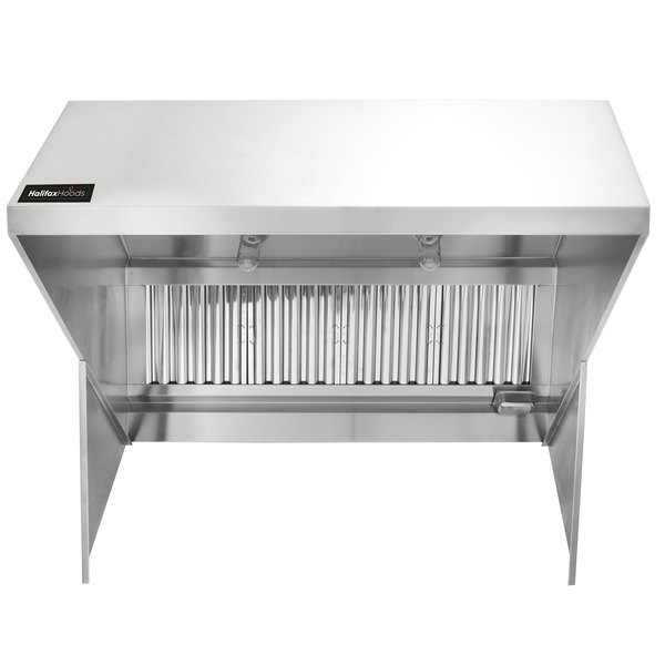 halifax exhp848 type 1 8 x 48 commercial kitchen hood system
