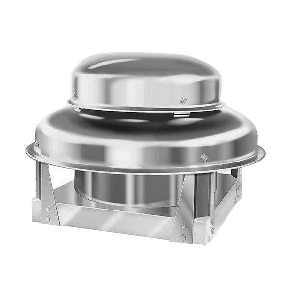 naks 10d dbff 600 direct drive centrifugal downblast exhaust fan 600 cfm 1550 rpm 115v single phase