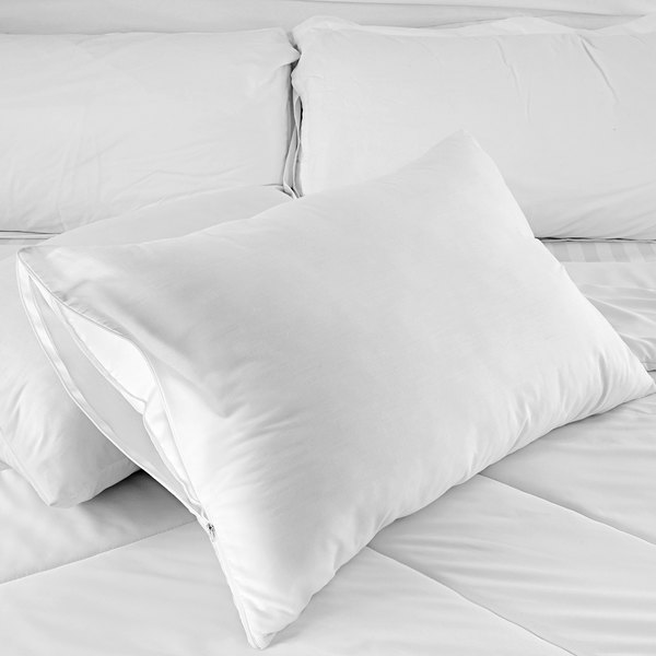 oxford king size waterproof zippered pillow protector