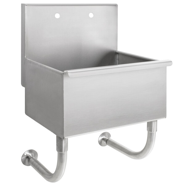 advance tabco wss 14 21 wall mounted utility sink 18 x 17 1 2