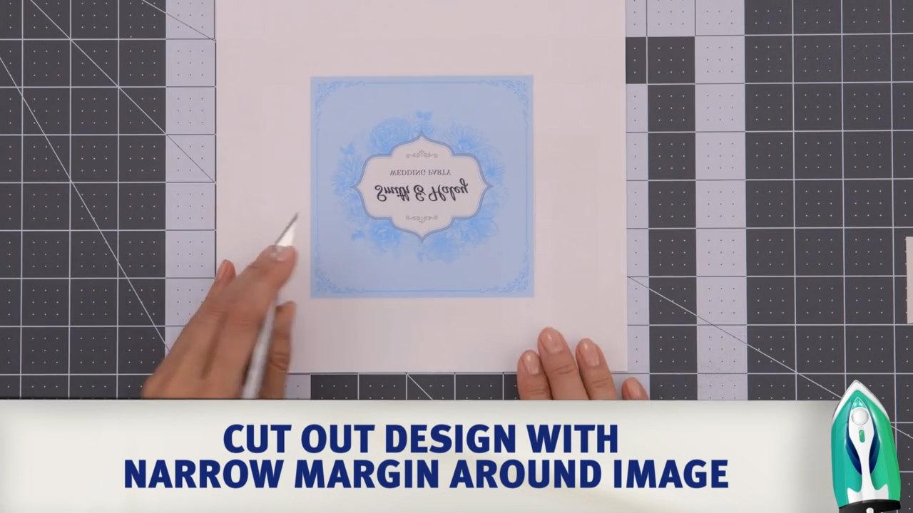 avery light fabric transfers video