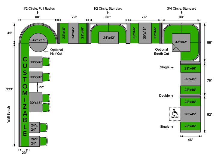 Restaurant Booth Seating Layout: How To