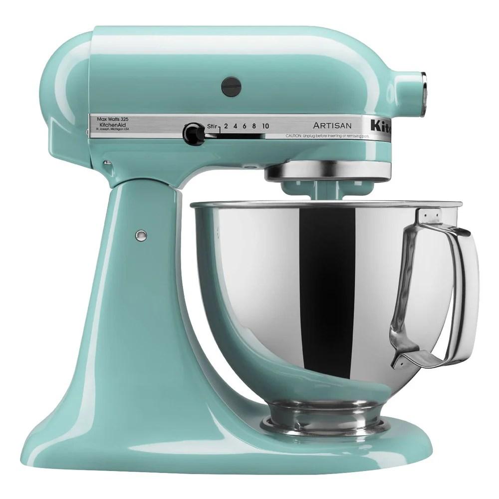 KitchenAid KSM150PSAQ Aqua Sky Artisan Series 5 Qt