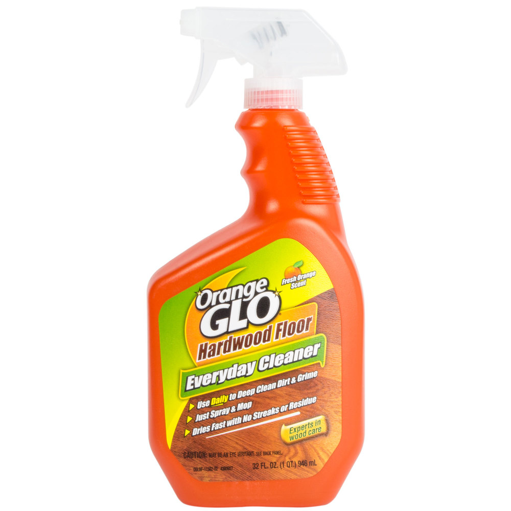 Orange Hardwood Floor Cleaner