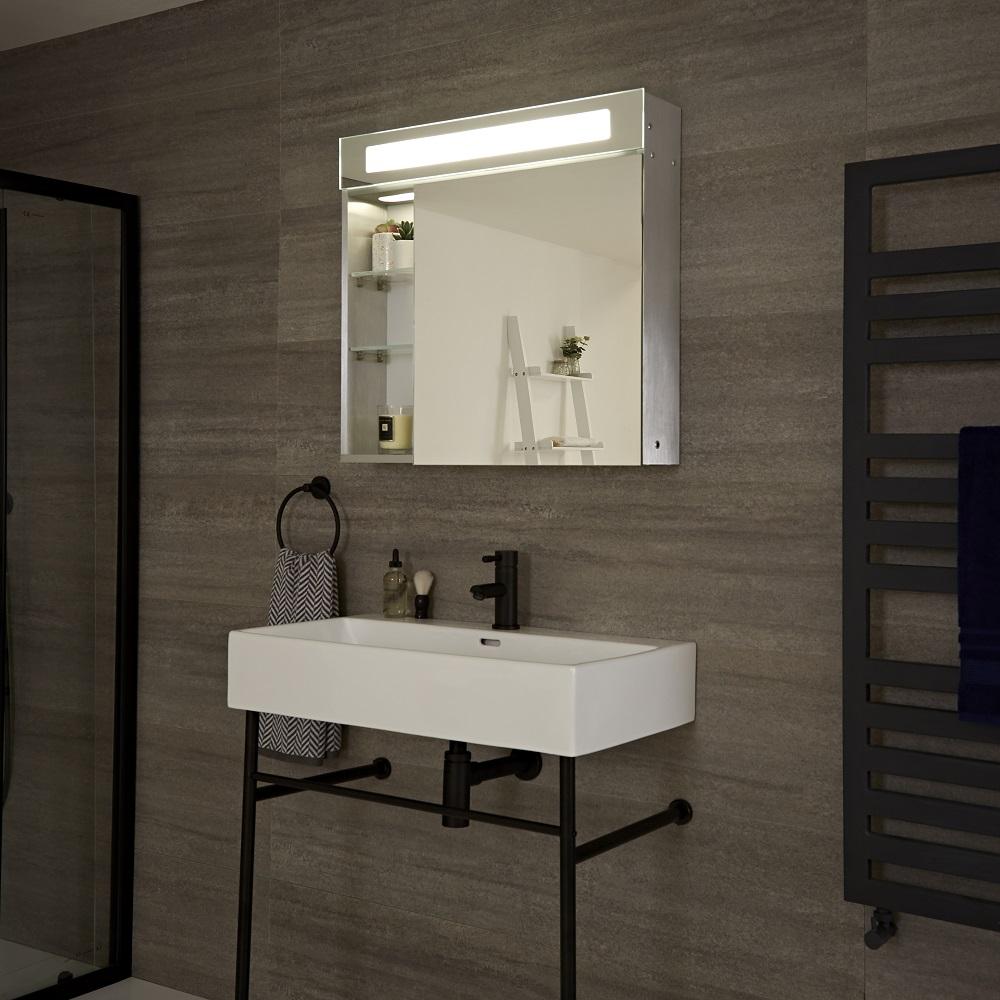 Mobile con LED e Specchio per Stanza da Bagno - Onega on Stanza Da Bagno  id=28795