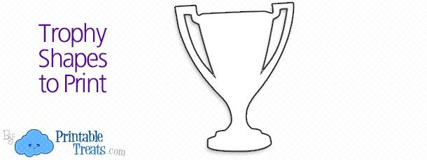 Trophy Shapes Printable