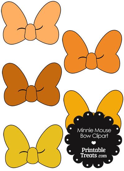 Daisy Duck Bow Template Printable