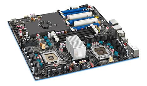 Intel Skultrail – 8 cores, 4 GPUs
