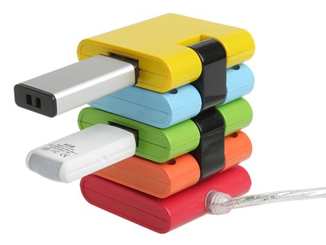 Chromatic USB Hubs differs in shapes