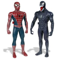Spiderman and Venom on talking terms